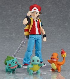 Pokemon figma No.356 Red Figure From The Good Smile Company
