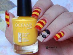 #nail #nails #nailart #unha #unhas #unhadecorada #harrypotter #jkrolling #hogwarts #amarelo #yellow #grifinoria #grifindor #artesanal #dicas #girl #forgirl #meninas #beauty #fashion #moda