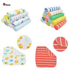 8pcs Baby Towel Cotton Saliva Towel Nursing Towel Feeding Towel Wash Cloth Cute Baby Handkerchief