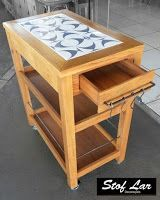 Resultado de imagem para carrinho gourmet feitos com madeira