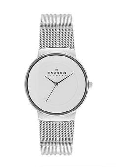NICOLINE - Klokke - silver-coloured Skagen, Minimal Chic, Elegant, Silver Color, Gold Watch, Rose Gold, Watches, My Style, Accessories