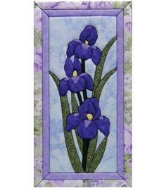 """Iris Quilt Magic Kit-10""""X19"""""""