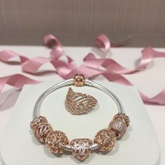 Pandora rose gold love and appreciation