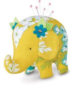 cute elephant pincushion