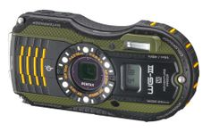 Shock-proof (within limits) cameras. The Pentax Optio WG-3 GPS includes GPS. Neato. Compass and camera in one.