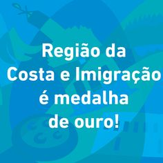 Hoje é o último dia das Olimpíadas 2016!!!! Para nos despedirmos desse clima campeão vamos dar medalhas de ouro para as belezas da Região da Costa e Imigração. #VempraCostaeImigracao #destinomedalhadeouro