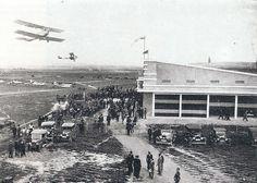 30 de abril de 1931.Inauguración del Aeropuerto de Barajas | Flickr: Intercambio de fotos