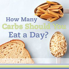 How Many Carbs Should You Eat a Day?  By: Sara Broek  Carbs have a big impact on blood glucose levels. So, what is the right amount of carbs to eat? While the answer is different for everyone, this guide will provide a helpful starting point.