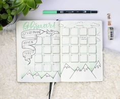 We all have them. Bad days. Today I was really cranky (no but really, you can ask my colleagues) Oh well, tonight I don't have any plans. So I can cosy up with a blanket and a nice cappuccino. Tomorrow we'll try again. How was your day? • Complete overview of my monthly spread • • • #bujo #bulletjournal #bujoaddict #drawing #doodles #doodling #monthlyspread #airplane #adventure #dutch_dots #leuchtturm1917bulletjournal #tombow #washitape #handlettering #tombowusa