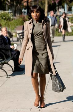 A nude, single-breasted coat is a timeless investment that will go with everything in your wardrobe.