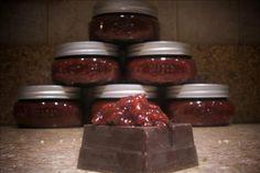 Raspberry Chocolate Lavender Jam  Follow and add lavender
