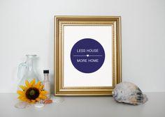Home Decor Wall Art Printable Decor Less by WordsOfEndearment