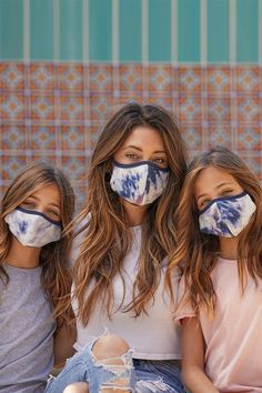 The She Pack collection of face masks for women and girls includes 5 reversible face masks, that are machine washable with a fabric. Mask For Kids, How To Wear, Face Masks, Collection, Keeping Healthy, Number 3, Women, Fabric, Girls
