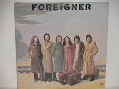 """Foreigner - Debut Album - """"Feels Like the First Time"""" - """"Cold As Ice"""" - Atlantic Records 1977 - Vintage Rock Vinyl LP Record Album"""