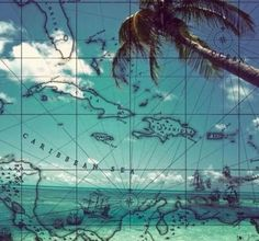 Featuring a tropical paradise and a map of the Caribbean, the Pirate Beach Wheatpaste Mural from GreenBox Art will have you dreaming of the shore. This fabric-based removable wall sticker is easy to mount, and can be reused without stretching or ripping. Canvas Art Prints, Framed Art Prints, Canvas Wall Art, Ocean Mural, Pirate Decor, Tiki Art, Mural Wall Art, Boys Room Decor, Kids Room