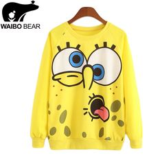 New  Casual sweater women Autumn and spring sweater woman Long sleeve pullover Bright yellow color Knitting sweater women