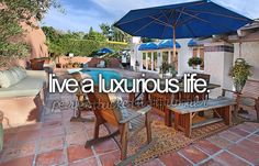 live a luxurious life #bucketlist