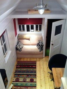 The Trailhouse is a beautifully styled tiny home.