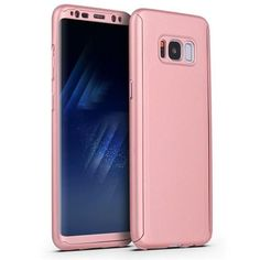 360 Full Cover Case + Tempered Glass For Samsung Galaxy S8 S8 Plus