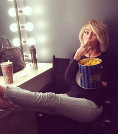 I have to say, Julianne Hough is one of my top beauty/overall health models