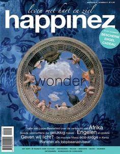 Happinez 2004 nr 6 - Wonder - . In dit nummer:Interview Irene van Lippe-Biesterfeld – Planeten als loopbaanadviseur – Altaren –Beschermengel cadeau.