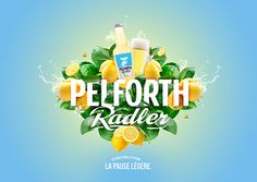 Pelforth Radler on Behance