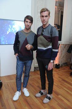 Filippo Fiora and Filippo Cirulli #Santoni4Women #Santoni #Santonishoes #SS16 #MFW #fashion #shoes