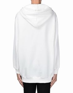Moschino Question Marks Womens Long Sleeve Sweatshirt White