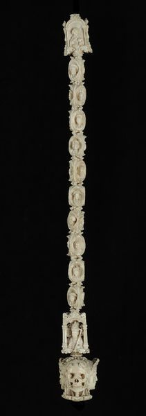 Rosary.  c. 1525-50.  French (Flanders).  Ivory.  London: Victoria  Albert Museum.