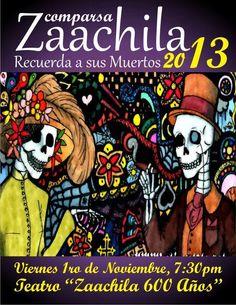 Comparsa Zaachila - November 1, 2013