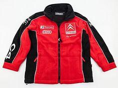 WRC Rally Citroen racing Team Enfant en polaire Taille L: CITROËN Racing Rally Team en polaire pour enfant Polaire, plein de poches pour…