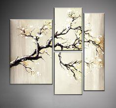 Cuadros Decorativos Modernos Tripticos Sobre Bastidor - $ 950,00 en MercadoLibre