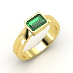 Reminiscent of the Emerald City! The Jada Ring from Gemvara.