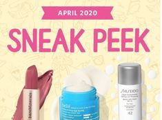 Play! By Sephora April 2020 SPOILERS! – LYNETTE BLEDSOE Sephora Box, Sephora Play, Shiseido, Bareminerals, Beauty Box, Sunscreen, Hair Care, Makeup, Make Up