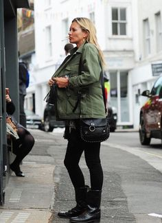 """eleajournal: """"  Kate Moss in London """""""