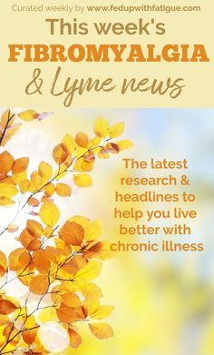 2019 and news highlights: New test diagnoses Lyme in 15 minutes; how sound therapy can reduce chronic pain; NIH releases five-year plan for Lyme research; fibromyalgia and dry eyes; bullet journaling for chronic illness and more! Chronic Fatigue Syndrome, Chronic Illness, Mental Illness, Fibromyalgia Pain, Chronic Pain, Lyme Disease, Autoimmune Disease, Neuroplasticity, Epic Fail Pictures