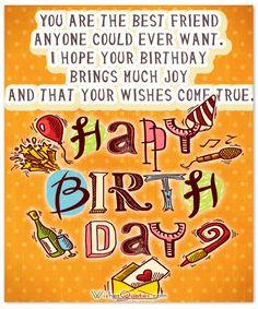 Birthday Card to Send to a Friend