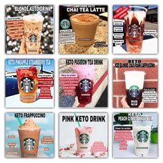 Check out this Ultimate Keto Drink Guide. For more details on these recipes, please go to previous posts on grid… ?Check out this Ultimate Keto Drink Guide. For more details on these recipes, please go to previous posts on grid… Keto Diet Drinks, Low Carb Drinks, Keto Drink, Keto Snacks, Starbucks Frappuccino, Starbucks Coffee, Starbucks Secret Menu Drinks, Starbucks Recipes, Sugar Free Starbucks Drinks