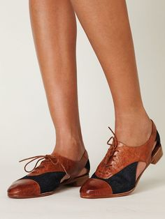 Parlor Oxford - love them!  Too bad once again fashion forgets there are working women requiring enclosed shoes.