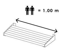 model lengte 100 cm