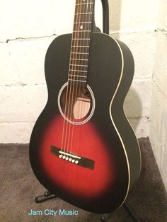 Recording King RPH 05 Solid Top Steel String Parlor 0 Size Acoustic Guitar   eBay
