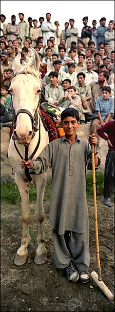 After the Polo Match . Pakistan