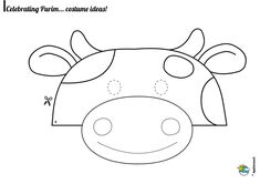 11 Best Cow mask images in 2017 | Cow mask, Cow, Cow craft