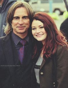 One of my favorite pictures of Mr. Gold and Belle. ❤❤❤