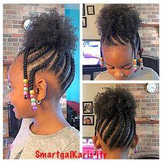 Lil Girl Hairstyles, Black Kids Hairstyles, Natural Hairstyles For Kids, Kids Braided Hairstyles, Toddler Hairstyles, Teenage Hairstyles, Hairstyles 2016, Funky Hairstyles, Kids Natural Hair