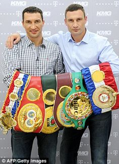Champion Klitschko faces biggest fight against Putin and the Red Army Vitali Klitschko, Boxing Images, Jerry Jones, Sport Boxing, World Boxing, Boxing History, Boxing Champions, Tony Romo, Art