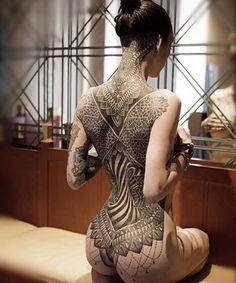 womenwithink: @glenncuzen | @mrscuzen #backpiece #backtattoo #blacktattoo #blackworkers #blacktattooart #blackwork #sacredgeometry #geometricaltattoo #dotwork #girlswithink #girlswithtattoos #modelswithink #modelswithtattoos #art #altgirls #altmodels #womenwithink #womenwithtattoos #ink #inkedgirls #inked #inkedwomen #inkedmodels #tattoo #tattooed #tattooedgirls #tattoedwomen #tattooedmodel