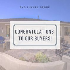 We are so happy to see another one of our clients happy and HOME! Congratulations to our buyers... #BVOLuxury