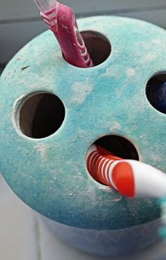 The toothbrush's holder | 32 Things You Should Be Cleaning But Aren't