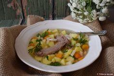 Walesi báránynyak leves | Tétova ínyenc Soup, Chicken, Meat, Ethnic Recipes, Soups, Cubs, Chowder, Kai
